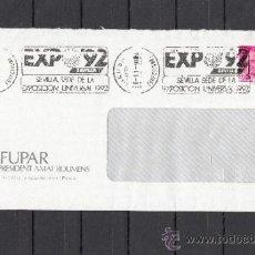 Sellos: 1987 RODILLO 35B TERRASSA DESGASTADO CIRCULADO, EXPO 92, SEVILLA SEDE DE LA EXPOSICION UNIVERSAL 19. Lote 57578768
