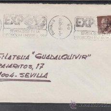Sellos: 1987 RODILLO 11 BURGOS CIRCULADO, EXPO 92, SEVILLA SEDE DE LA EXPOSICION UNIVERSAL 1992. Lote 169784336