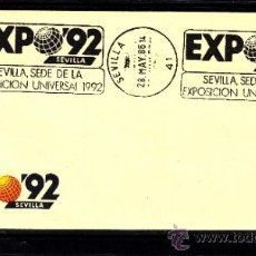 Sellos: 1986 RODILLO 37 SEVILLA, EXPO 92, SEVILLA SEDE DE LA EXPOSICION UNIVERSAL 1992. Lote 56940791