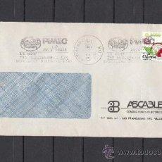 Sellos: 1985 RODILLO 157 BARCELONA CIRCULADO, X ANIVº PIMEC, 1ª CONFERENCIA PME MEDITERRANIA . Lote 37631456