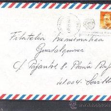 Sellos: 1985 RODILLO 153 LAS PALMAS CIRCULADO, XVIII CONGRESO NACIONAL DE ARQUEOLOGIA, ISLAS CANARIAS. Lote 37639985