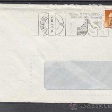 Sellos: 1985 RODILLO 116 BARCELONA CIRCULADO, VISITEN BARNAJOYA 85, . Lote 37640415