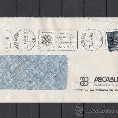 Sellos: 1985 RODILLO 37 BARCELONA CIRCULADO, RODATUR, VISITEN EL SALON DEL TURISMO, . Lote 37640682