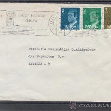 Sellos: 1981 RODILLO 79 VIGO (PONTEVEDRA) CIRCULADO, ESTATUTO DE AUTONOMIA DE GALICIA . Lote 112643110