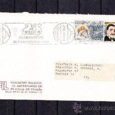 Sellos: 1982 RODILLO 65 MADRID CIRCULADO, 25 ANIVERSARIO ASOCIACION NACIONAL DE ENTIDADES DE FINANCIACION . Lote 37696113