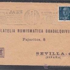 Sellos: 1976 RODILLO 59 SAN SEBASTIAN CIRCULADO, MUSICA, XI FESTIVAL DE JAZZ DE SAN SEBASTIAN. Lote 37789696