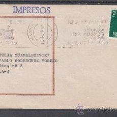 Sellos: 1980 RODILLO 13 MADRID CIRCULADO, EXPO OCIO 80, FERIA DEL TIEMPO LIBRE . Lote 37745550