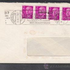 Sellos: 1979 RODILLO 73 BARCELONA CIRCULADO, SONIMAG 17, SALON INTERNACIONAL IMAGEN, SONIDO Y ELECTRONICA. Lote 37745677