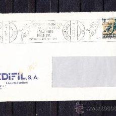 Sellos: 1979 RODILLO 71 BARCELONA CIRCULADO, VII BIENAL INTERNACIONAL DEL DEPORTE EN LAS BELLAS ARTES . Lote 37745690