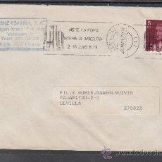 Sellos: 1979 RODILLO 34 BARCELONA CIRCULADO, FIB, VISITE LA FERIA INTERNACIONAL DE BARCELONA . Lote 37749600
