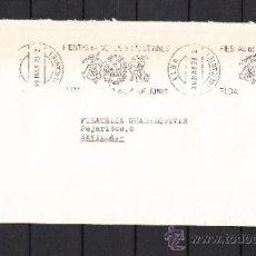 Sellos: 1979 RODILLO 33 ELDA (ALICANTE) CIRCULADO, FIESTAS DE MOROS Y CRISTIANOS, . Lote 37749681