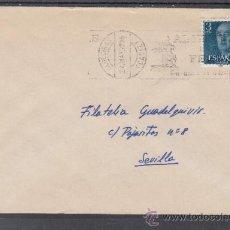 Sellos: 1977 RODILLO 57 ALGECIRAS (CADIZ) CIRCULADO, ALGECIRAS ESTA EN FERIA, . Lote 37773582