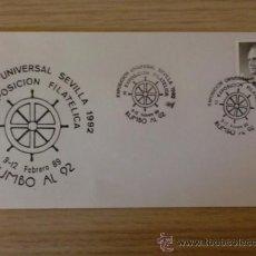 Briefmarken - SOBRE CON MATASELLOS DE SEVILLA. 1992. EXPO. UNIVERSAL SEVILLA 1992. II EXPO. FILAT. RUMBO AL 92. - 37829409