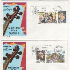 Sellos: MAESTROS DE LA ZARZUELA.-1983. Lote 37882711