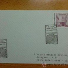 Sellos: TARJETA CON MATASELLO ESPECIAL. SEGOVIA. 1998. 1 DIA CIRCULACION. RUTA DE LOS CAMINOS DE SEFARAD.. Lote 38053797