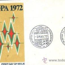 Sellos: 1501-ANDORRA MAT. PDC. 72 - EUROPA 1972. CAT. 96.-. Lote 38122457