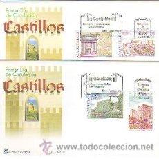 Sellos: 4408- MAT. PDC. 3785/88 CASTILLOS. MADRID 2001. Lote 38330680