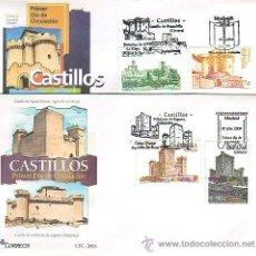 Sellos: 4531- MAT. PDC. 4097/100 CASTILLOS. MADRID 2004. Lote 38331708