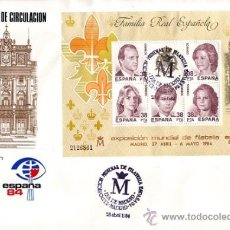 Sellos: 4689- MAT. HB-2754 ESPAÑA '84. DIA DE MADRID. MADRID. Lote 38332165