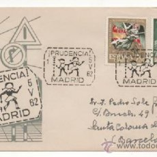 Sellos: EDUCACION VIAL MATASELLO DE 1962 - MADRID . Lote 38353040