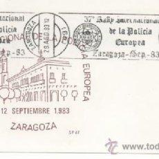 Sellos: 37 RALLY INTERNACIONAL DE LA POLICIA EUROPEA. Lote 38354123