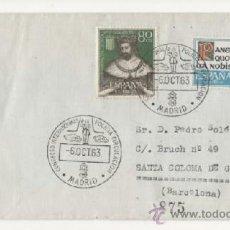 Sellos: 1963 - MADRID CONGRESO INTERNACIONAL DE POLICIA DE CIRCULACION. Lote 38354216