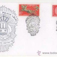 Sellos: POLICIA LOCAL DE MIERES (CENTENARIO) . Lote 38354728
