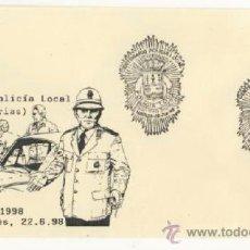 Sellos: POLICIA LOCAL DE MIERES. Lote 38354761