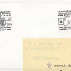 Sellos: VIII EXFICO - CAO - OVIEDO 2009 - SEGURIDAD VIAL. Lote 38402509