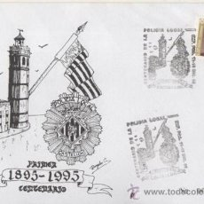 Sellos: 1995 - CENTENARIO DE LA POLICIA LOCAL DE CASTELLON. Lote 38414846