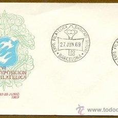 Sellos: XVI EXPOSICION FILATELICA DEL SINDICATO PROVINCIAL DEL SEGURO 1969. Lote 38452360