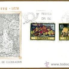 Sellos: SOBRE PRIMER DIA - PINTORES 1976. Lote 38460451