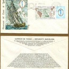 Sellos: SOBRE PRIMER DIA - EXPAMER 1977. Lote 38460721