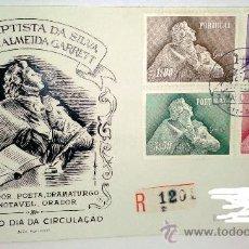 Sellos: SOBRE PRIMER DIA DE PORTUGAL SELLADO EL 7 DE MARZO DE 1957. Lote 39249791