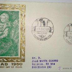Sellos: SOBRE PRIMER DIA ( NAVIDAD 1960 ). Lote 39461666
