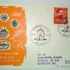 Sellos: SOBRE PRIMER DIA DE FELIZ NAVIDAD DE 25 DICIEMBRE DE 1960. Lote 39462772