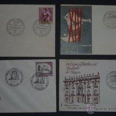 Sellos: 7 SOBRES EXPOSICION FILATELICA DEL SINDICATO DEL SEGURO 1967 69 75 77 MATASELLOS CONMEMORATIVOS (CO. Lote 39890628