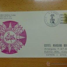 Sellos: SOBRE CON MATASELLO. USA. 1981. USS MILLER FF-1091.. Lote 39906460