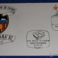 Sellos: MUNDIAL ESPAÑA 82 - VALENCIA ¡IMPECABLE!. Lote 40187528