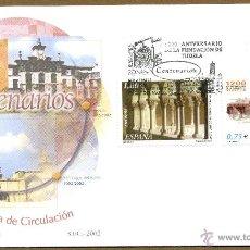 Sellos: SOBRE PRIMER DIA (SPD) - CENTENARIOS ED. 3892/93. Lote 40626436