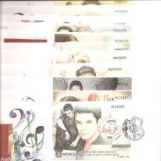 Sellos: 2000-ED. 3756A66 H.B. SERIE COMPLETA EN S.P.D.-EXPO. MUNDIAL ESPAÑA 2000. PERSONAJES.MAT. ESPECIAL T. Lote 110950123