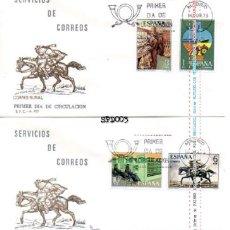 Sellos: SPD SERIE COMPLETA SERVICIOS DE CORREOS SOBRE PRIMER 2329/32. Lote 47246438