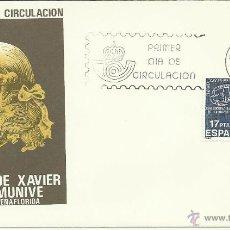 Briefmarken - ESPAÑA SPD CONDE DE PEÑAFLORIDA XAVIER M DE MUNIVE - 42350041