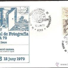 Sellos: MATASELLOS ESPECIAL REUS 1979 EUROPA 79 -FOTOGRAFÍA-. Lote 43519647
