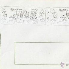 Sellos: PINTURA DALI INAUGURACION TEATRO MUSEO, FIGUERAS (GERONA) 1974. MATASELLOS RODILLO EN SOBRE CA. GMP. Lote 44027399