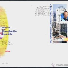 Sellos: 10 SOBRE PRIMER DIA (SPD) - XXV ANIVERSARIO DE LA CONSTITUCION. EDF: 4037/46. Lote 44859670