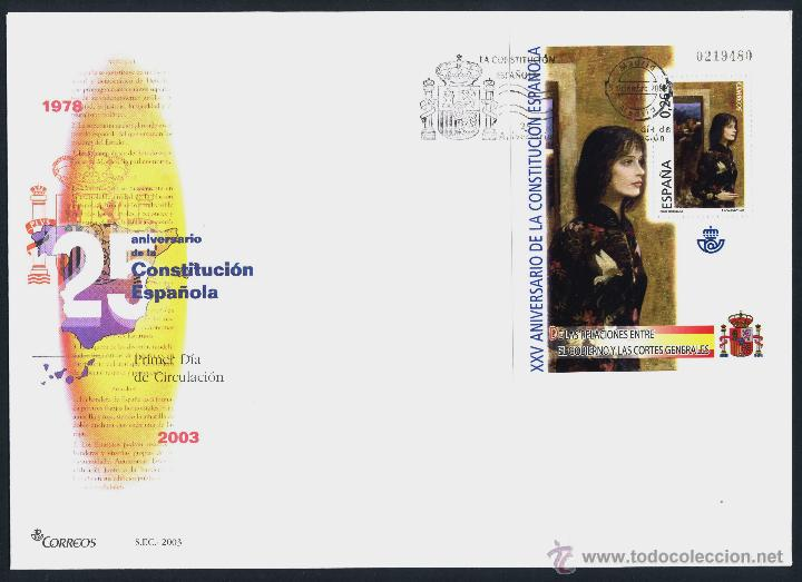 Sellos: 10 SOBRE PRIMER DIA (SPD) - XXV ANIVERSARIO DE LA CONSTITUCION. EDF: 4037/46 - Foto 10 - 44859670