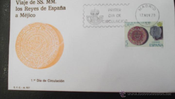 Calendario 1978 Mexico.Espana Spd 2493 Viaje Ss Mm Los Reyes A Mexico Calendario Azteca 1978 Matasello 17 Nov 78 M
