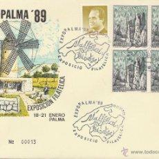 Sellos: EXPOPALMA ' 89. SPD. MALLORCA TODO PAISAJE. *. MH. 1989.. Lote 46450365