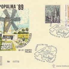 Sellos: MALLORCA.EXPOPALMA ' 89. MALLORCA TODO PAISAJE . 1989.*.MH. 2 FOTOS. Lote 46450504